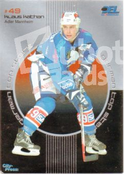 DEL 2002 / 03 CityPress German Top Star - No GT10 - Klaus Kathan