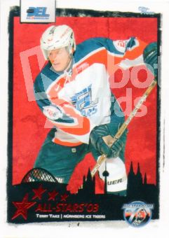 DEL 2003 / 04 CityPress DEL All-Stars - No AS15 - Terry Yake