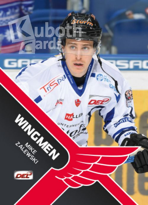 DEL 2017-18 CityPress Wingmen - No WM17 - Mike Zalewski
