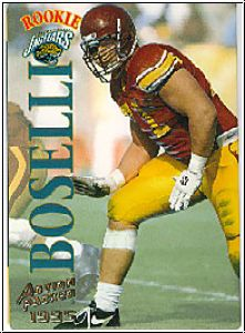 NFL 1995 Action Packed - No 105 - Toni Boselli