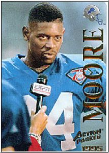 NFL 1995 Action Packed - No 7 - Herman Moore