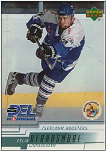 DEL 2000 / 01 Upper Deck - No 102 - Colin Beardsmore