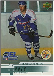 DEL 2000 / 01 Upper Deck - No 109 - Peter Roed