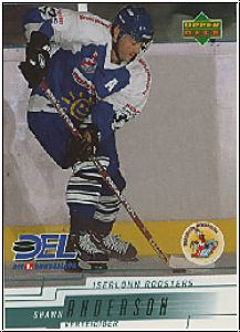 DEL 2000 / 01 Upper Deck - No 111 - Shawn Anderson