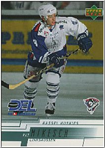 DEL 2000 / 01 Upper Deck - No 117 - Pat Mikesch