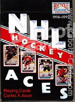 NHL 1996 / 97 NHL Hockey Poker Playing Cards Aces