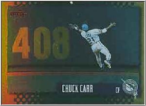 1995 Score - Gold Rush - No 224 - Chuck Carr