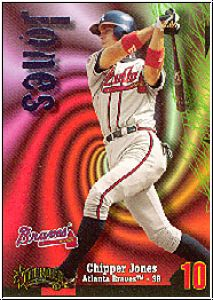 MLB 1998 Circa Thunder - No 10 - Chipper Jones