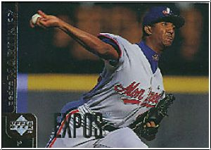MLB 1998 Upper Deck - No 157 - Pedro Martinez