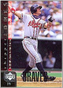 MLB 1998 Upper Deck - No 300 - Chipper Jones