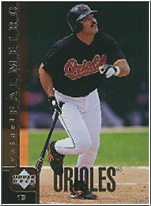 MLB 1998 Upper Deck - No 40 - Rafael Palmeiro
