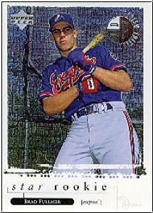 MLB 1998 Upper Deck - No 7 of 10 - Brad Fullmer