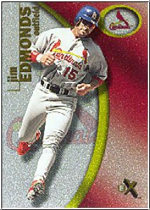 MLB 2001 E-X - No 38 - Jim Edmonds
