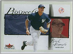 MLB 2002 Fleer Tradition - No 452 - Erick Almonte
