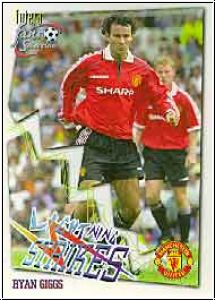 Fussball 1999 futera Manchester United - No 68 - Ryan Giggs