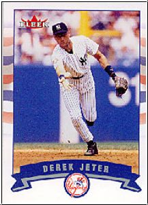 MLB 2002 Fleer - No P279 - Derek Jeter