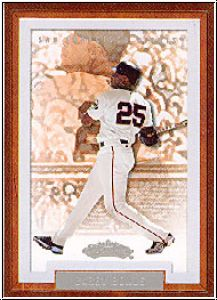 MLB 2002 Fleer Showcase - No 35 - Barry Bonds