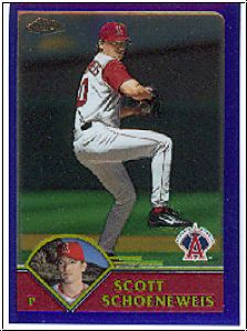MLB 2003 Topps Chrome - No 296 - Scott Schoeneweis