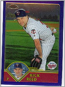 MLB 2003 Topps Chrome - No 310 - Rick Reed