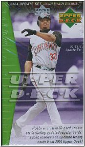 MLB 2004 Upper Deck Update Set