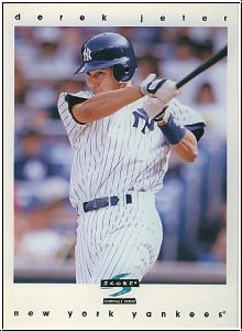 MLB 1997 Score Jumbo - No 7 of 9 - Derek Jeter