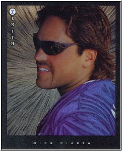 MLB 1997 Zenith 8x10 - No 5 of 24 - Mike Piazza