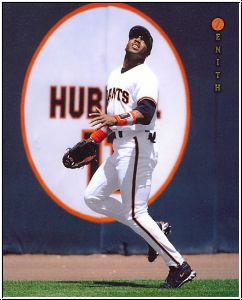 MLB 1997 Zenith 8x10 - No 16 of 24 - Barry Bonds