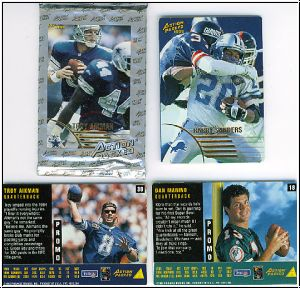 NFL 1995 Action Packed Promos