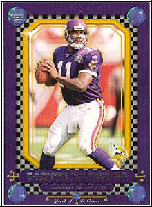 NFL 2001 Crown Royale Jewels of the Crown - No 13 - Culpepper