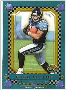 NFL 2001 Crown Royale Jewels of the Crown - No 12 - Taylor
