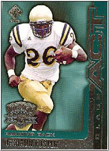 NFL 2002 Private Stock Class Act - No 8 - DeShaun Foster