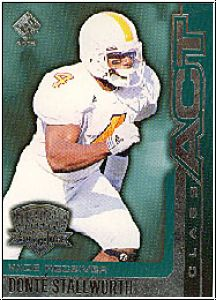 NFL 2002 Privat Stock Class Act - No 20 - Donté Stallworth