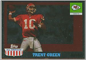 NFL 2003 Topps All American Foil - No 40 - Trent Green
