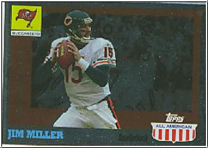 NFL 2003 Topps All American Foil - No 37 - Jim Miller