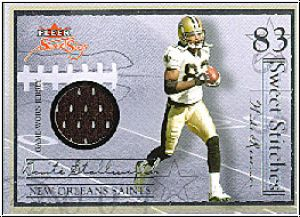 NFL 2004 Fleer Sweet Sigs Sweet Stitches - Stallworth