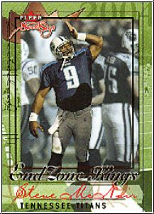 NFL 2004 Fleer Sweet Sigs End Zone Kings - No 11/15 - McNair