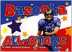 NFL 2004 Bazooka All-Stars Jerseys - No BAS-JW - Jeff Wilkins