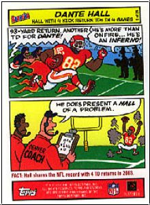 NFL 2004 Bazooka Comics - No 5/11 - Dante Hall