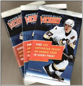 NHL 2007-08 Upper Deck Victory