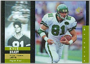 NFL 1995 SP Holoviews - No 6 of 40 - Kyle Brady