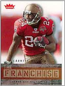 NFL 2006 Fleer The Franchise - No TF-CW - Carnell Williams