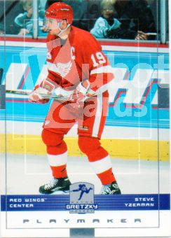NHL 1999-00 Wayne Gretzky Hockey - No 19 - Steve Yzerman