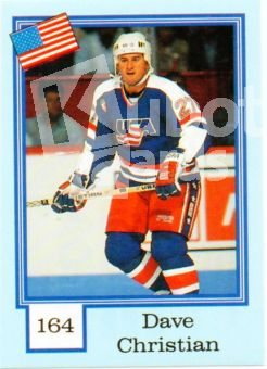 FIN 1992 Finnish Semic Stickers - No 164 - Dave Christian