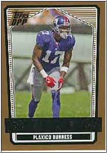 NFL 2007 Topps Draft Picks & Prospects - No 43 - Plaxico Burress