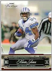 NFL 2007 Playoff Prestige - No 51 - Kevin Jones