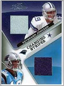 NFL 2007 Playoff Prestige Changing Stripes Materials - CS-9