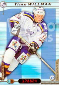FIN/NHL 2000-01 Finnish Cardset - No 245 - Timo Willman