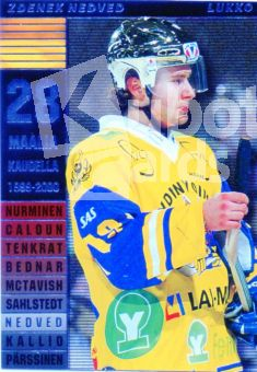 FIN/NHL 2000-01 Finnish Cardset Master Blasters - No 7 of 9