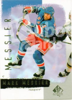 NHL 2000-01 SP Authentic - No 11 - Mark Messier