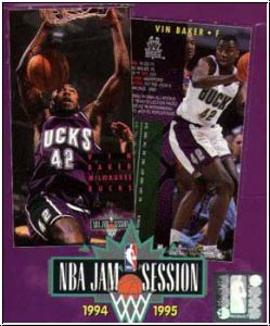 NBA 1994 / 95 Fleer NBA Jam Session